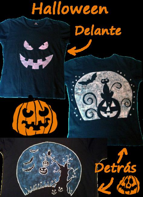 camisetas halloween hecha a mano - puponelandia.wordpress.com