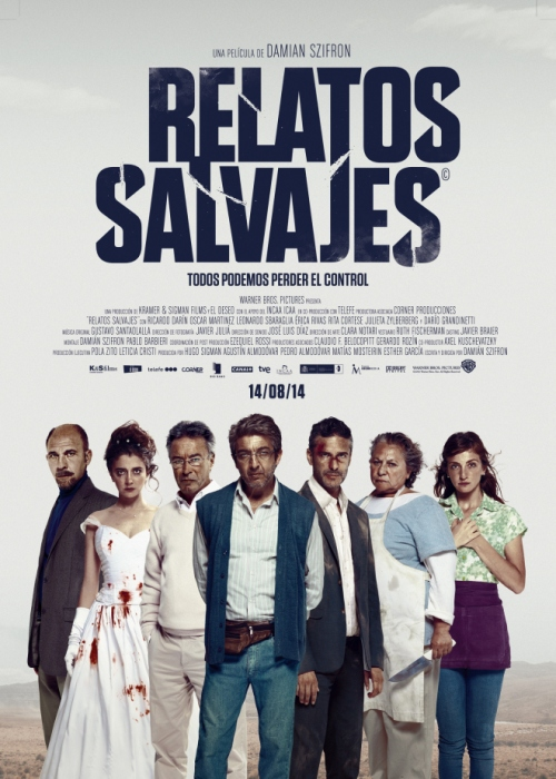 "Argentina, ""Relatos Salvajes"", (Wild Tales), Damián Szifrón, director;"